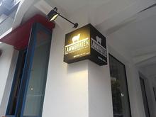[갈바간판] LAMMBRATEN-램브라튼 양고기(갈바코너간판, 실내네온, 아크릴글자 스카시 제작 및 시공)