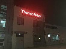 [LED 채널간판] 알파에이사-THermo Fisher(LED 채널간판, 지주형간판 제작 및 시공)