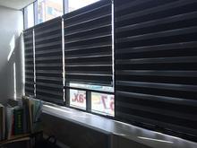 [실내사인물] 윤현자 세무소 사무실(콤비암막블라인드 외 시공)
