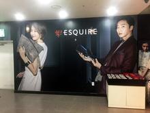 [실내사인물] LF스퀘어(매장 벽면 제작 및 시공)
